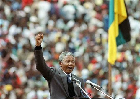A Brief Biography of Nelson Mandela  Torchbearer of Black ...