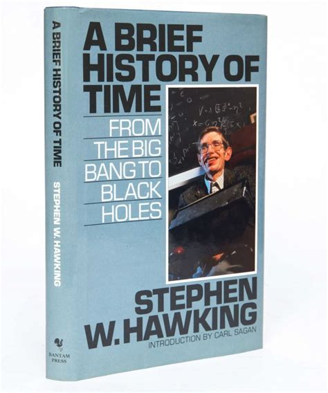 A Brief History of Time: From the Big Bang to Black Holes ...