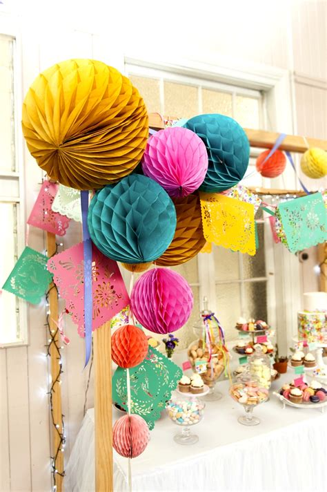 A Bright & Colorful Summer Party Fiesta   Party Ideas ...