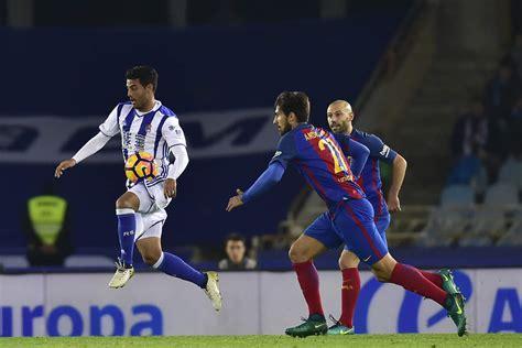 A Carlos Vela, el empate ante Barcelona le sabe a poco