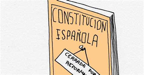A CARTOON A DAY: Reforma Express de la Constitucion Espanola