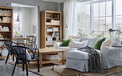 A cozy white sofa for easy afternoons and easy cleaning   IKEA