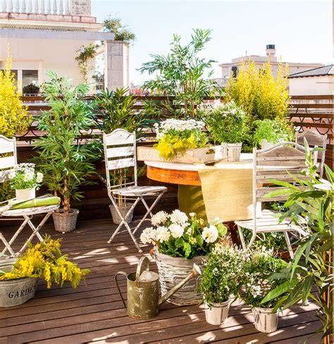 A cubierto | Decoracion de terrazas pequeñas, Plantas ...