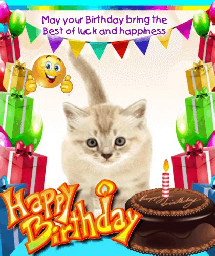 A Cute And Fun Birthday Card. Free Funny Birthday Wishes ...