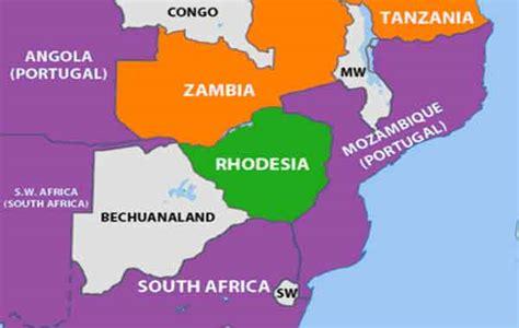 A declaração unilateral de independência da rodésia zimbabwe