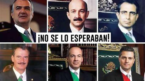 A ex presidentes mexicanos se les eliminará su pensión ...