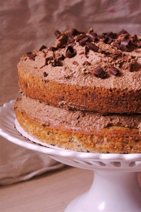 A Full Life: Banana Chocolate Chip Cake with Espresso ...