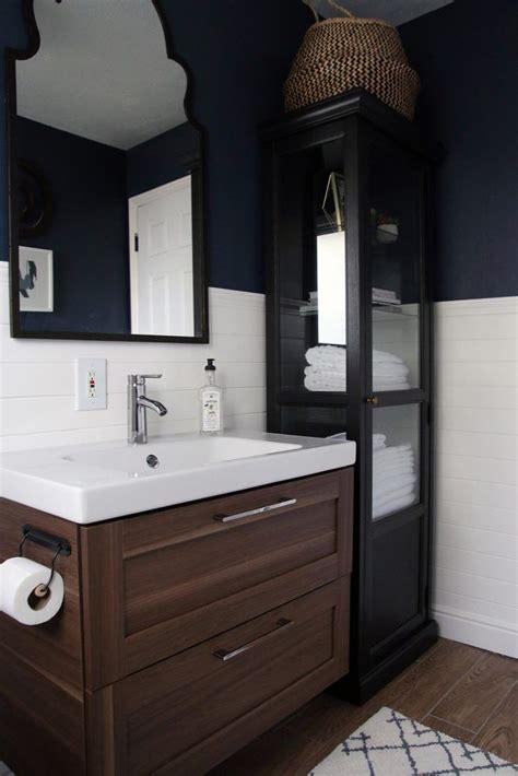 A Half bath refresh | Ikea bathroom vanity, Ikea bathroom ...