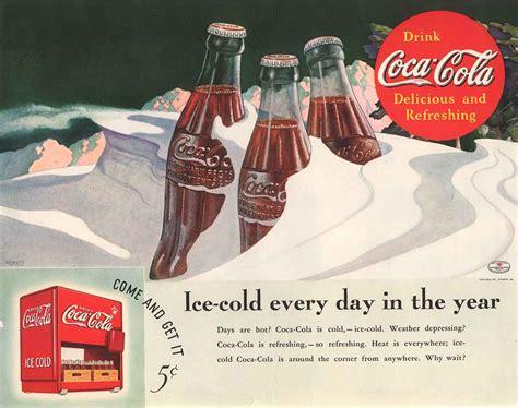 A história dos anúncios de Natal da Coca Cola em 53 ...