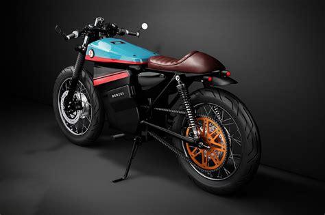 A Honda Electric Cafe Racer Motorcycle Concept