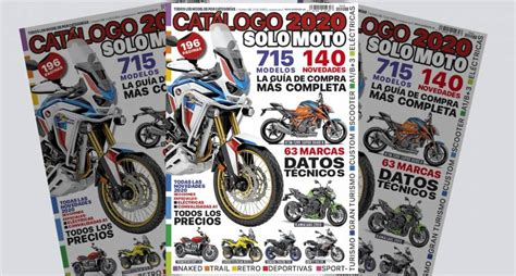 ¡A la venta el Catálogo Solo Moto 2020!