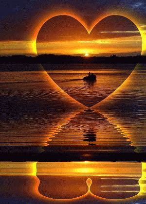 A Letter of Love… | Heart in nature, Pictures, Beautiful moon