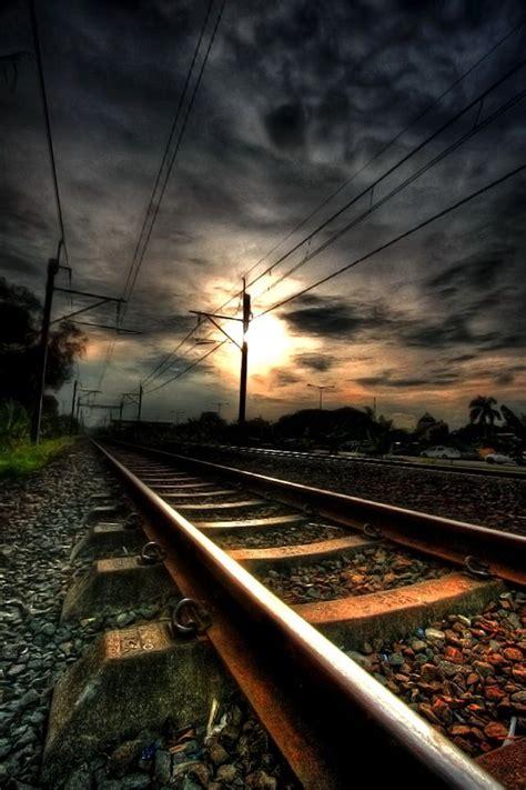 A long walk down the tracks.   Apocalyptical   Pinterest ...