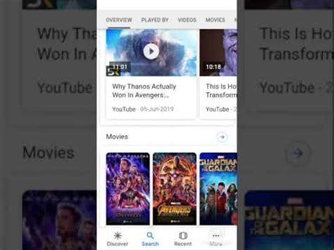 a magic of thanos snap on google ...