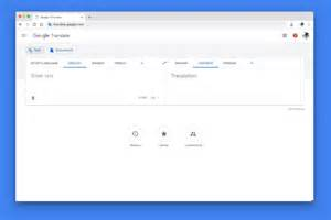 A new look for Google Translate on the web
