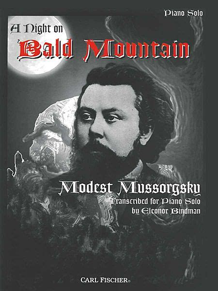 A Night On Bald Mountain Sheet Music By Modest Petrovich ...