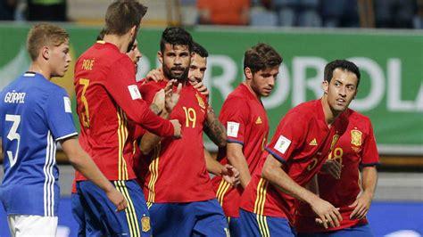 A Qué Hora Juega La Selección Española De Fútbol ...
