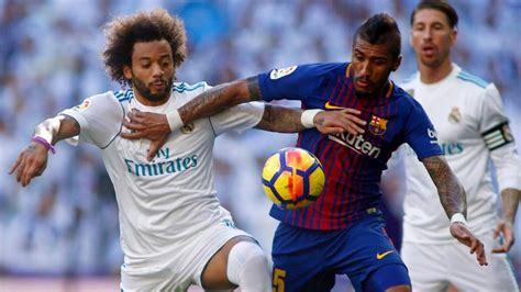 A qué hora juegan Barcelona vs. Real Madrid este domingo y ...