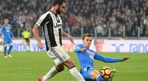 A qué hora juegan Napoli Juventus y qué canal televisa el ...