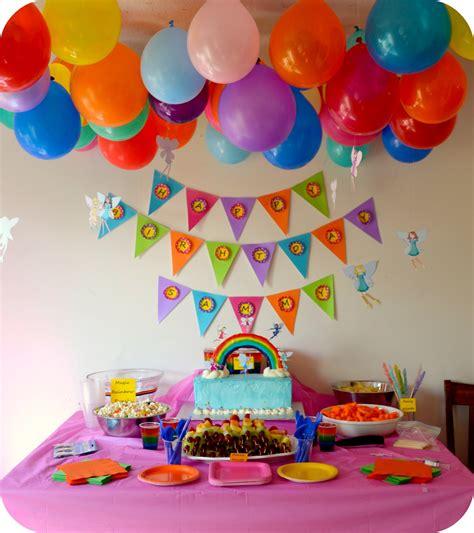 A Rainbow Fairy Party!