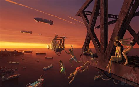 A Separate Reality: New Paintings of Dystopian Worlds by ...