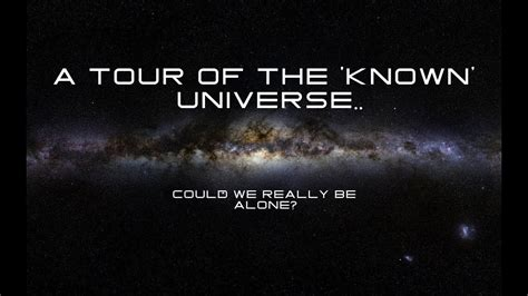 A tour of The  known  Universe   YouTube