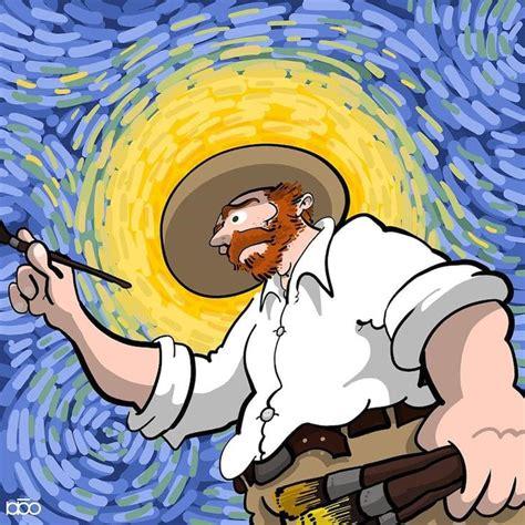 A vida de Vicent Van Gogh em 25 quadrinhos coloridos   O ...