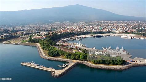 A view of main port leading to the Equatorial Guinea ...