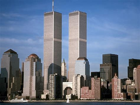 A4. April 4, 1973 World Trade Center  Twin Towers  Open | t311