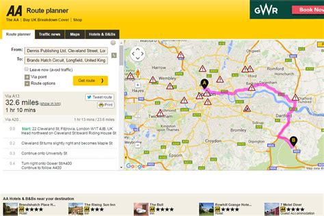 AA Route Planner | Best online route planners: 2016 group ...