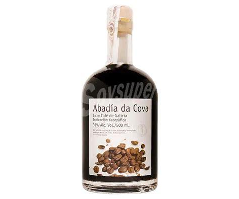 Abadía da Cova Licor de café con I.G Galicia Botella de 50 cl