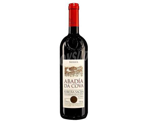 Abadía da Cova Vino tinto crianza barrica D.O. Ribeira ...