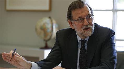 ABC entrevista a Mariano Rajoy: «No soy rencoroso. Es ...