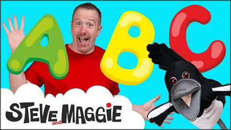 ABC Song   Alphabet Song from Steve and Maggie for Kids ...