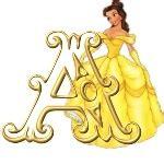 Abecedario de Princesa | Princesas Disney