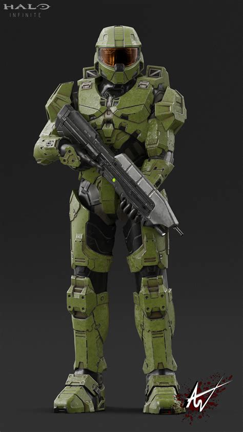 AbiSV on Twitter:  Halo Infinite Master Chief More pics on ...