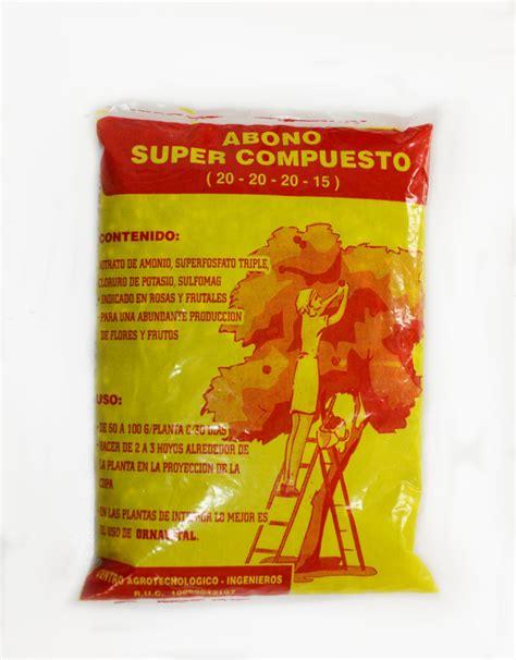 Abono Super compuesto, Vivero Chaclacayo