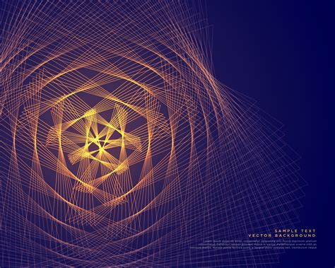 abstract glowing lines vector background   Download Free ...