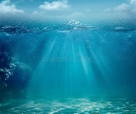 Abstract Sea And Ocean Backgrounds Stock Photo   Image of ...