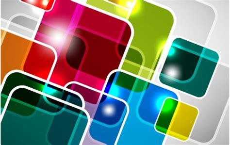 Abstract Square Vector Background Vector | Free Download