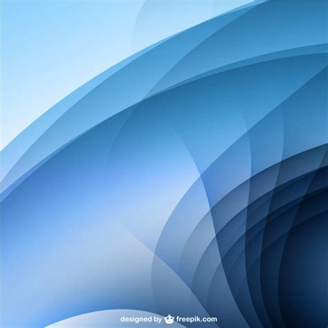 Abstract wave shape background | Free Vector