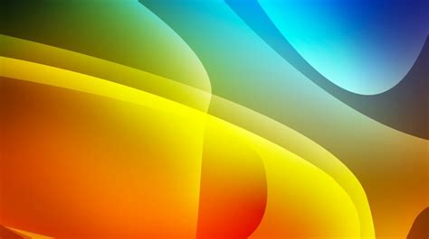 Abstraction 3d Colors Orange Blue   Wallpapers HD ...
