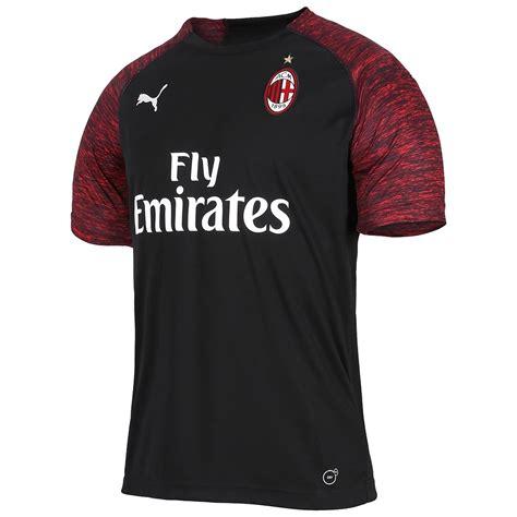 AC Milan 2018 19 Puma Third Kit | 18/19 Kits | Football ...