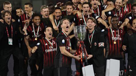 AC Milan beat Juventus to win Italian Super Cup   News ...