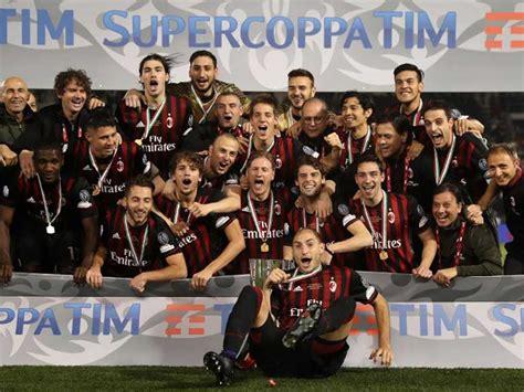 AC Milan Beat Juventus to Win Italian Super Cup – NDTV Sports