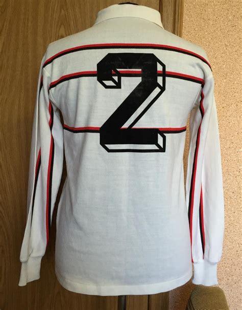 AC Milan Cup Shirt football shirt 1981   1992. Sponsored ...
