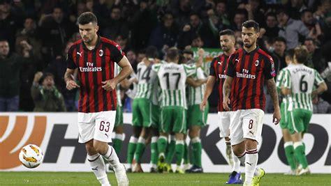 AC Milan, excluido de la próxima Liga Europa por incumplir ...