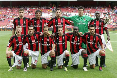 AC Milan Football Club Profile | The Power Of Sport and games