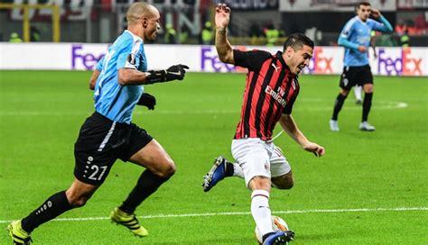 AC Milan remontó el partido y venció 5 2 a Dudelange por ...