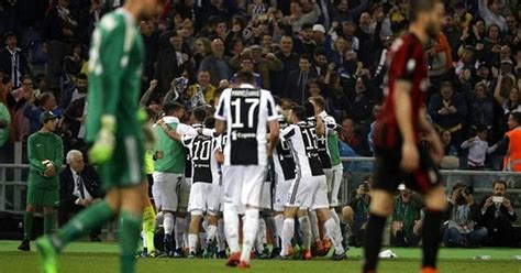 AC Milan s mistakes hand Italian Cup title to Juventus
